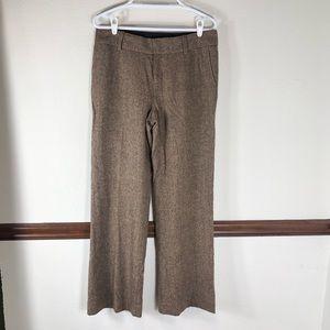 Eddie Bauer Vashon Fit wool blend trouser pants 10